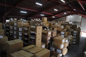 破産管財品倉庫